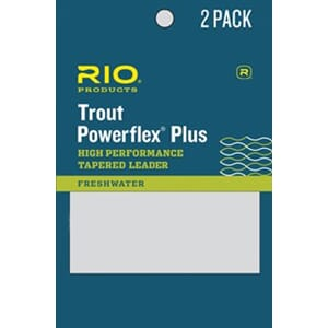 Powerflex Plus Leader Trout 9ft 2 pk